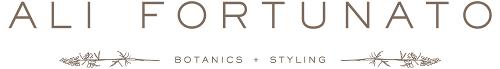 Ali Fortunato logo